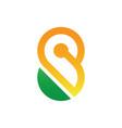 infinity concept symbol icon or logo vector image