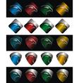 logo falcon vector image