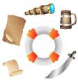 Pirates icon vector image