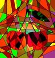cherries vector image vector image