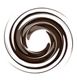vortex background coffee vector image