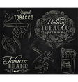 Tobacco chalk Vector Image