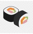 sushi isometric icon vector image