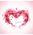 Abstract romantic background vector image