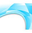 blue glass banner vector image