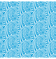 Seamless pattern with abstract waves vector image