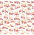 street food seamless pattern kebab taco burger vector image