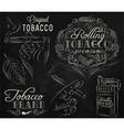 Tobacco chalk vector image