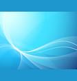 soft blue background vector image