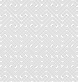 Slim gray countered fastened square spirals vector image