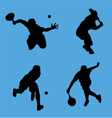tennis collection vector image