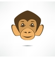 Smiling monkey vector image