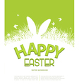 Easter Template for brochure Rabbit ears sticking vector image