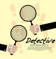 Detective Concept EPS10 vector image