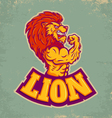 lion sport vector image vector image