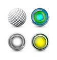 digital logos vector image vector image