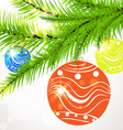 Christmas Ornamental Design vector image