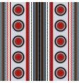Ethnic boho seamless pattern Colorful border vector image