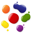 Paint Splotches vector image vector image