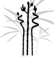 Abstract bamboo vector image