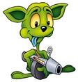 Green Alien vector image
