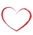 heart drawing vector image