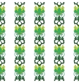 floral ornamental vector image