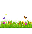Fresh Nature Landscape vector image