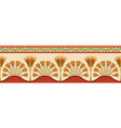 egyptian national ornaments vector image
