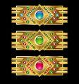 jewel icon bars vector image vector image