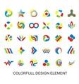 Colorfull Design Element vector image