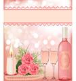 Wedding theme Background vector image vector image