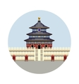 Temple of Heaven icon vector image