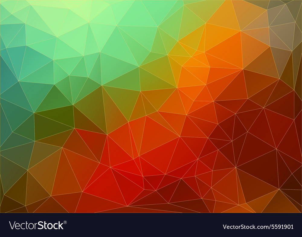 Abstract twodimensional colorful background vector