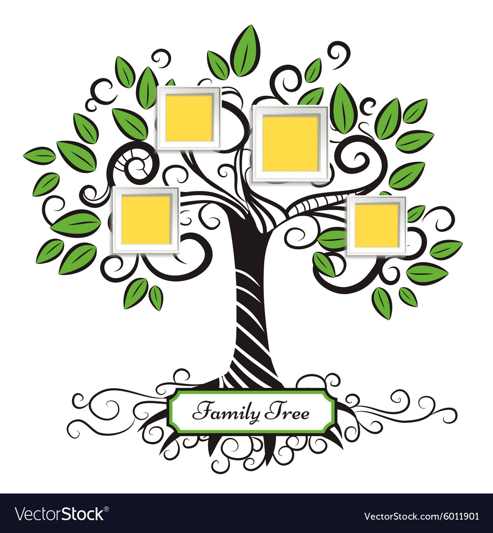 Memories tree vector
