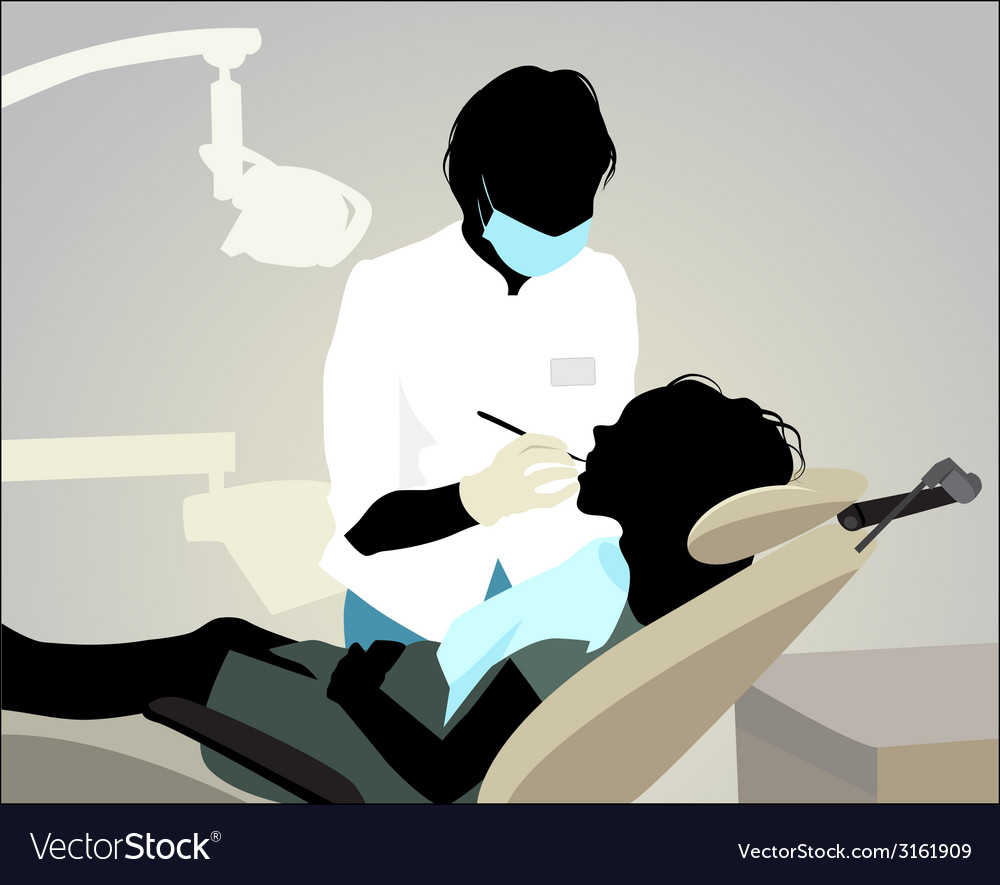 Dentist appointment vector