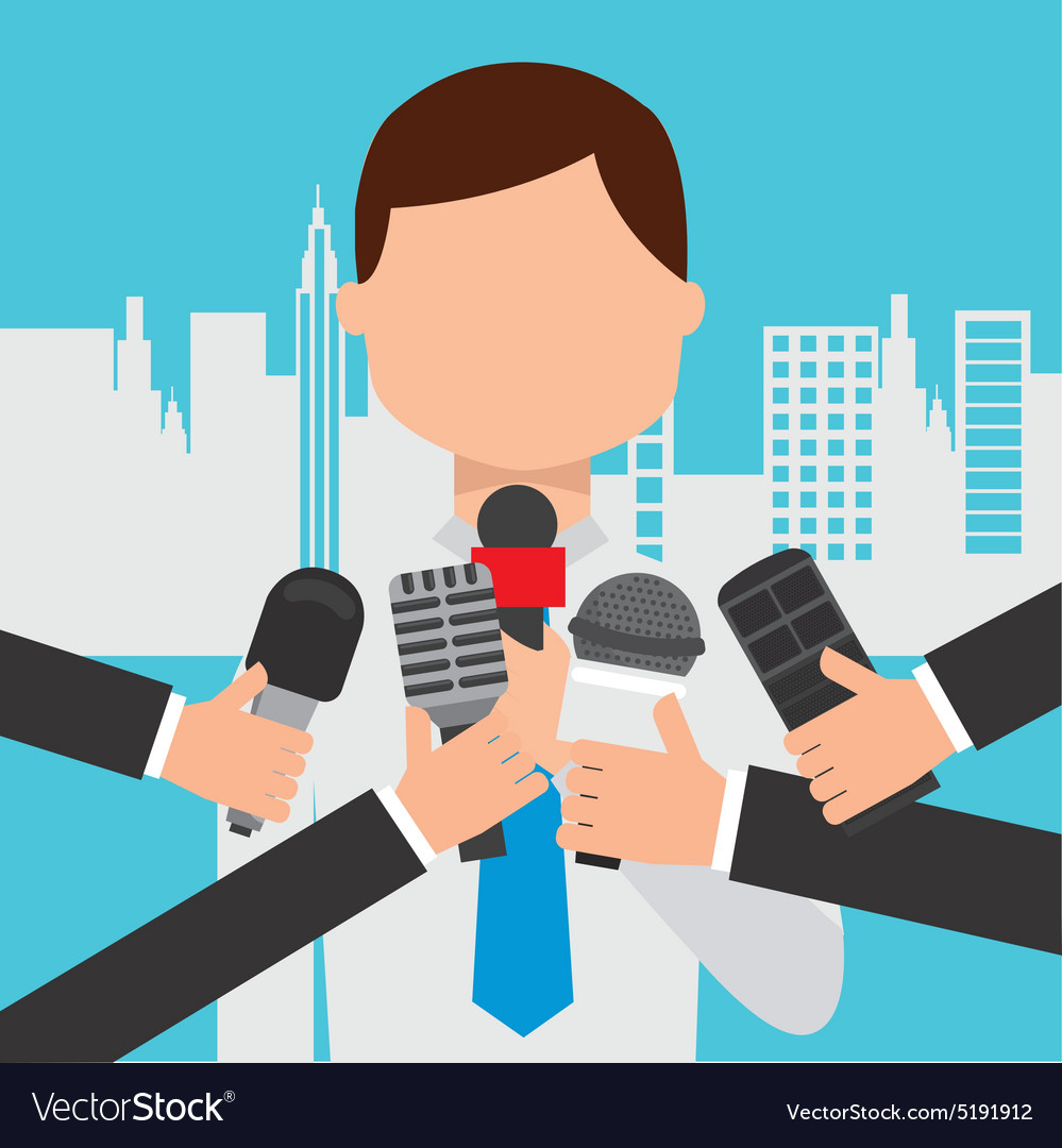 Interview concept vector