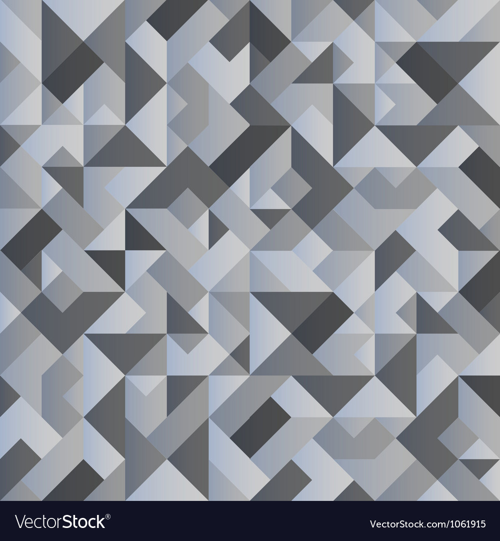 Monochrome geometric background vector