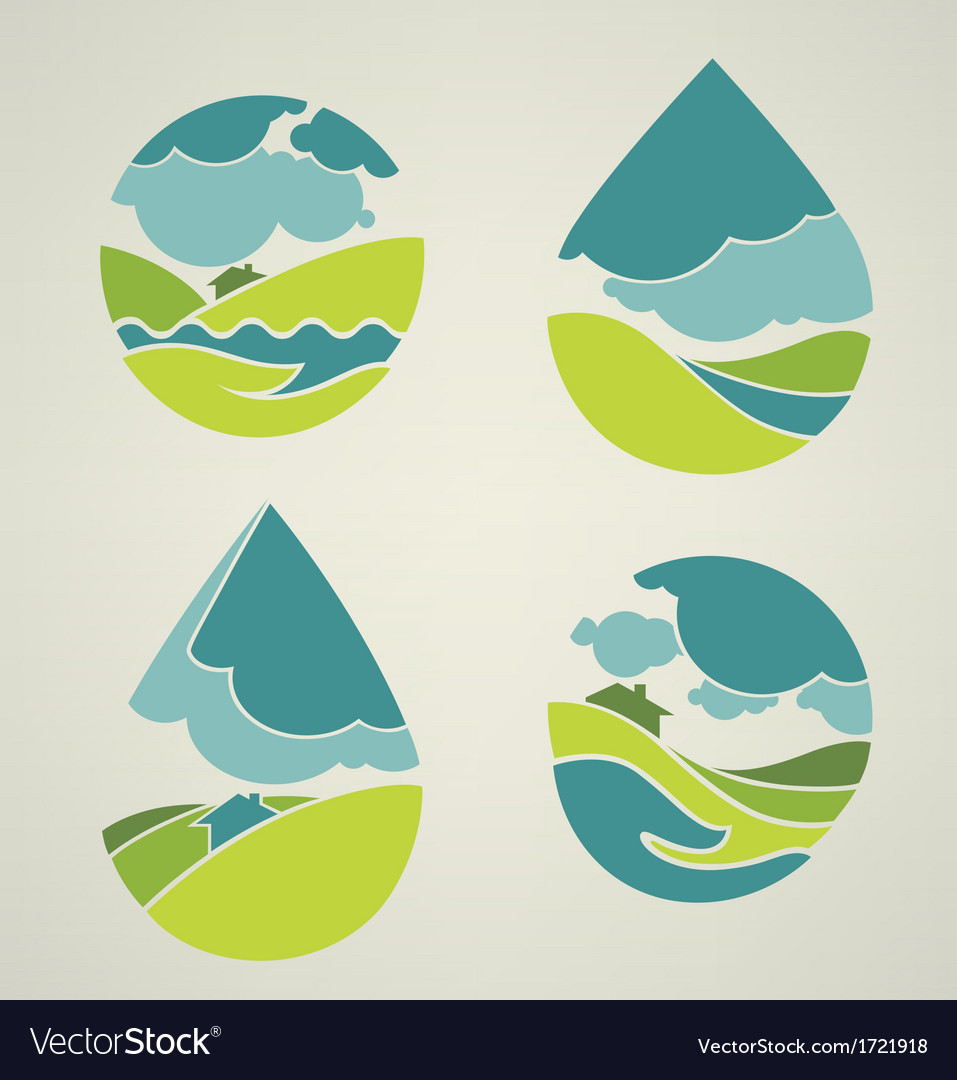 Lovely nature vector