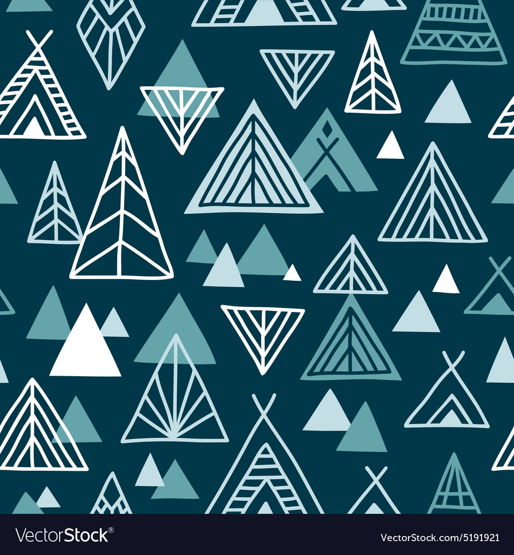 Strange journey  seamless pattern vector