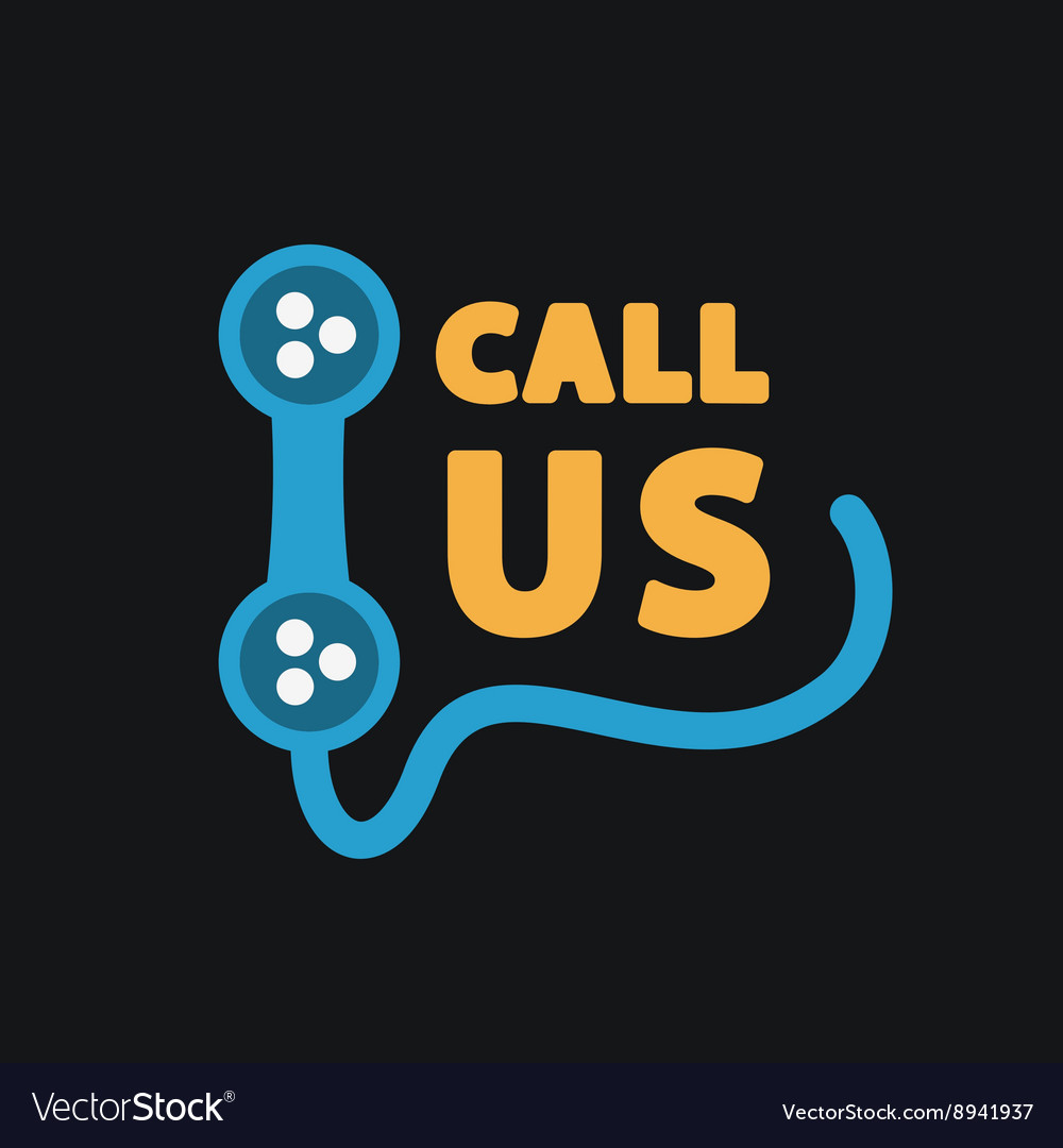 Call us icon vector