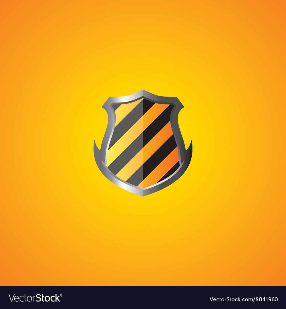 Protection shield theme vector
