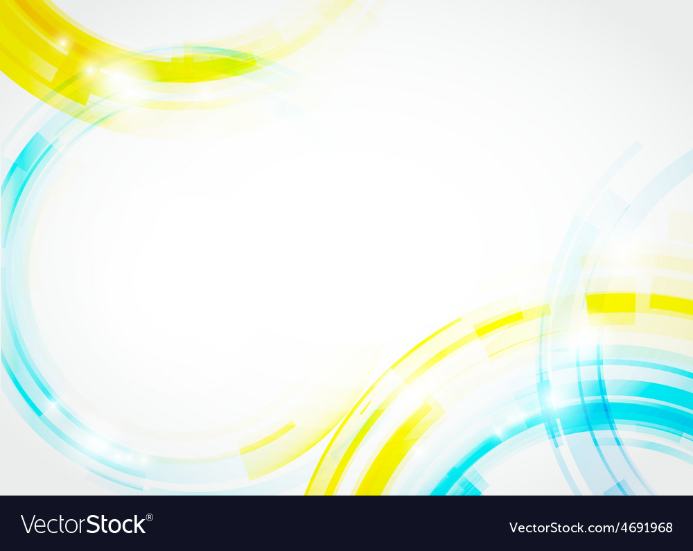 Circles background vector