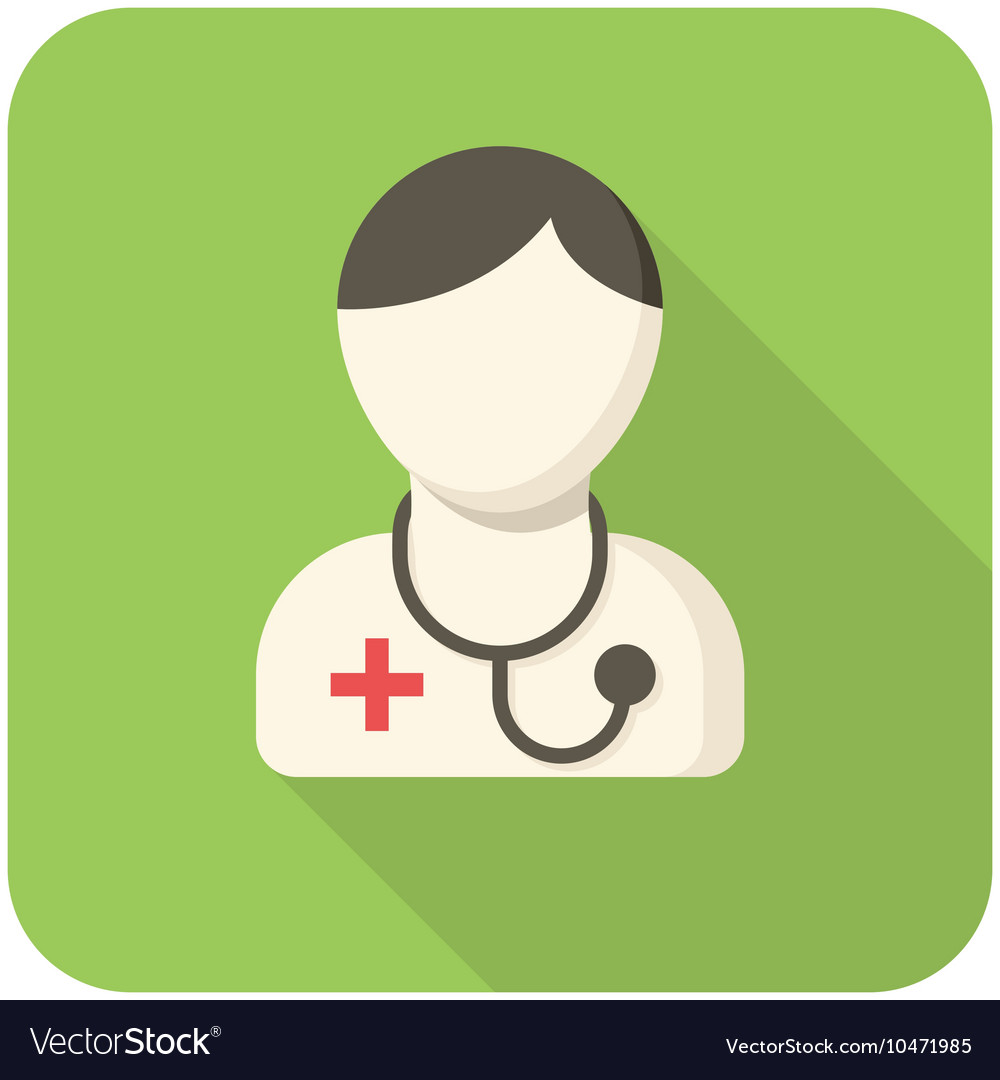 Doctor icon vector