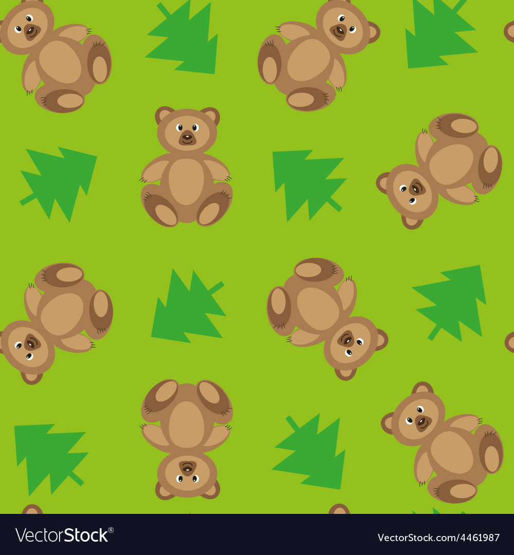 Forest bears 2 vector
