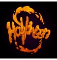 halloween splash vector image