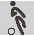 2270 football icon vector image