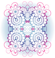 ornament of flowers vector image