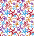 Celebration idea background beautiful stars vector image vector image