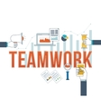 Corporate business management strategy planning vector image